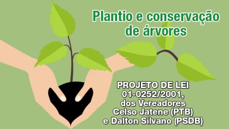 Plantio e conservação de árvores