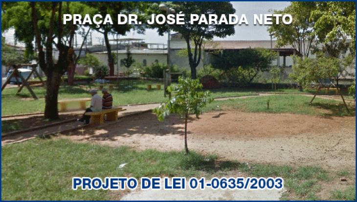 PRAÇA DR. JOSÉ PARADA NETO