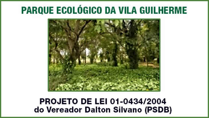 PARQUE ECOLÓGICO DA VILA GUILHERME