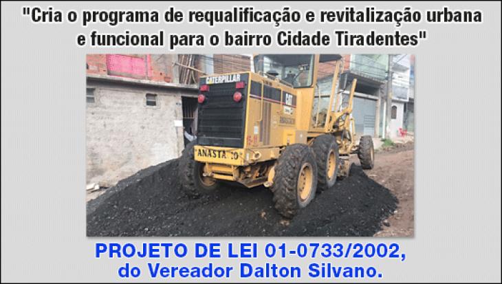 Programa de requalificação e revitalização urbana e funcional para o bairro Cidade Tiradentes