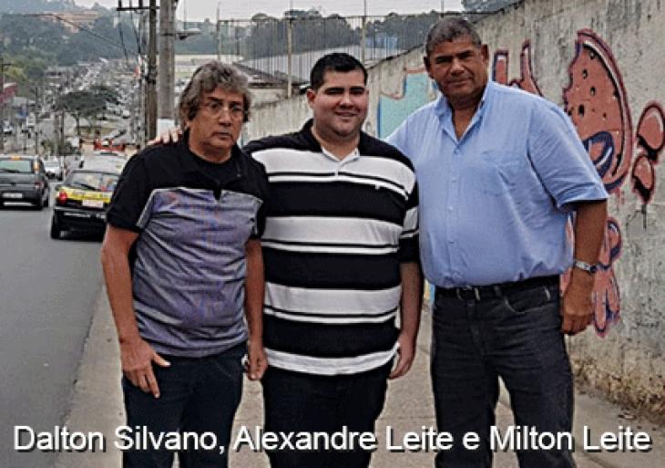 Dalton Silvano, sempre trabalhando pela Cidade Tiradentes
