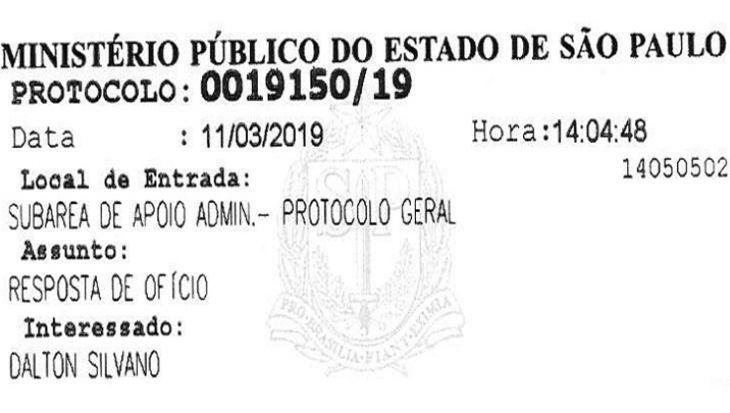 Vereador Dalton Silvano protocola novos esclarecimentos no Ministério Público contra a ENEL