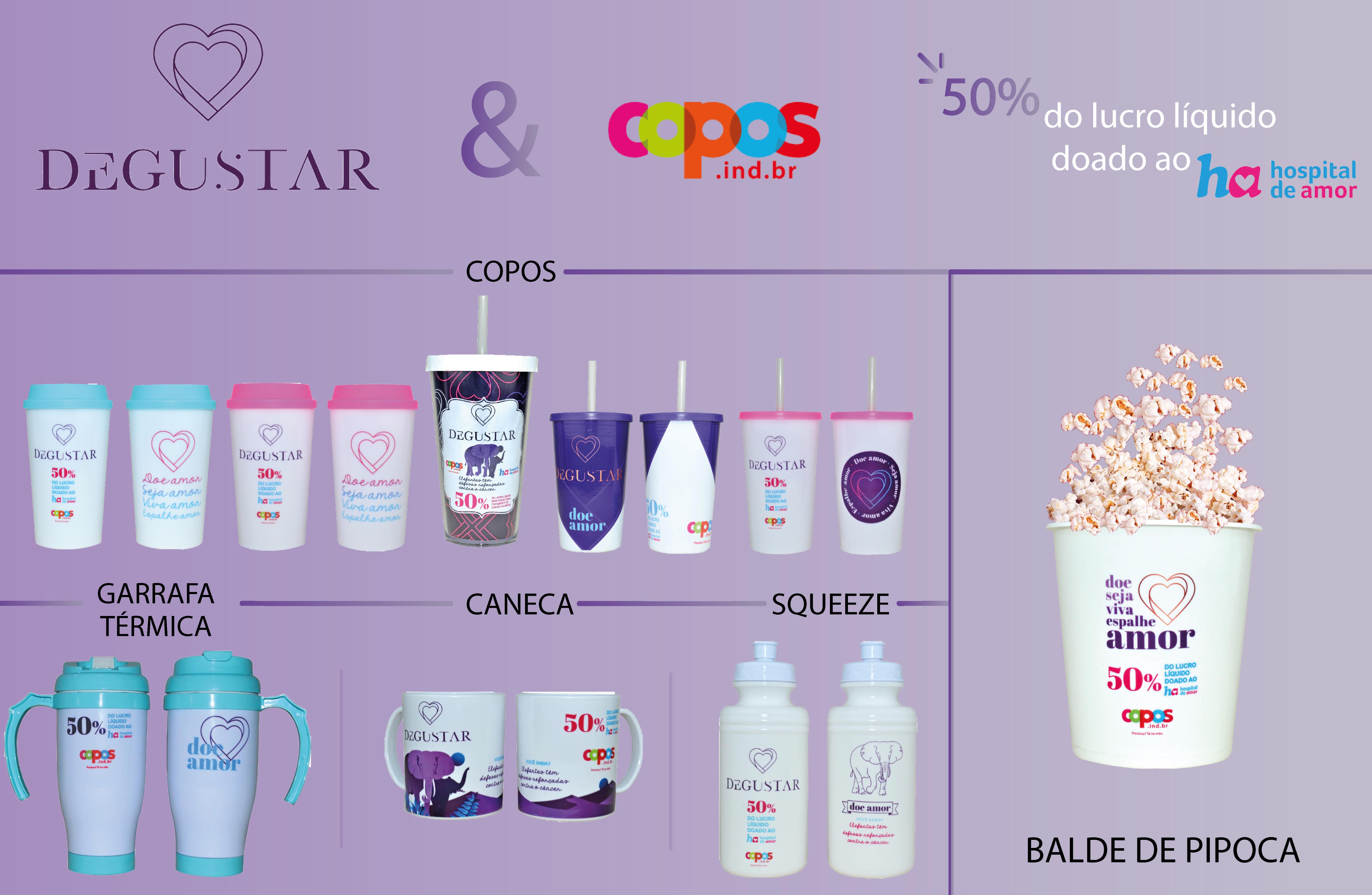 COPOS.IND Linha de produtos