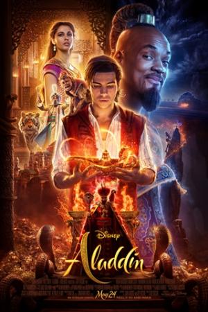 Aladdin Um jovem humilde descobre uma lâmpada mágica, com um gênio que pode lhe conceder desejos. Agora o rapaz quer conquistar a moça por quem se apaixonou, mas o que ele não sabe é que a jovem é uma princesa que está prestes a se noivar. Agora, com a ajuda do Gênio (Will Smith), ele tenta se passar por um príncipe e para conquistar o amor da moça e a confiança de seu pai. A sinopse oficial ainda não foi divulgada.