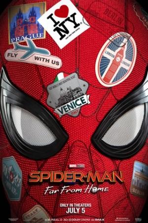 Homem-Aranha: Longe de Casa Peter Parker (Tom Holland) está em uma viagem de duas semanas pela Europa, ao lado de seus amigos de colégio, quando é surpreendido pela visita de Nick Fury (Samuel L. Jackson). Convocado para mais uma missão heróica, ele precisa enfrentar vários vilões que surgem em cidades-símbolo do continente, como Londres, Paris e Veneza, e também a aparição do enigmático Mysterio (Jake Gyllenhaal)