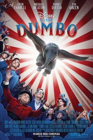 Dumbo Holt Farrier (Colin Farrell) é uma ex-estrela de circo que retorna da guerra e encontra seu mundo virado de cabeça para baixo. O circo em que trabalhava está passando por grandes dificuldades, e ele fica encarregado de cuidar de um elefante recém-nascido, cujas orelhas gigantes fazem dele motivo de piada. No entanto, os filhos de Holt descobrem que o pequeno elefante é capaz de uma façanha enorme.