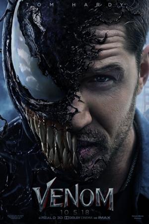 Venom Eddie Brock (Tom Hardy) é um jornalista que investiga o misterioso trabalho de um cientista, suspeito de utilizar cobaias humanas em experimentos mortais. Quando ele acaba entrando em contato com um simbionte alienígena, Eddie se torna Venom, uma máquina de matar incontrolável, que nem ele pode conter.