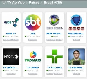 TVs AO VIVO
