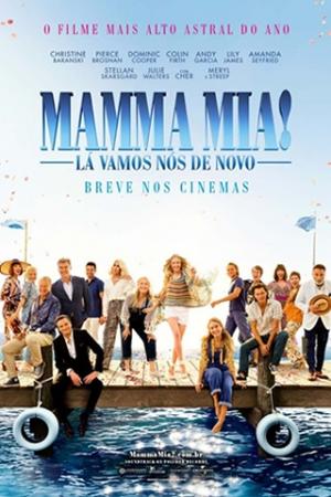 Mamma Mia! Lá Vamos Nós de Novo Ao descobrir que está grávida, Sophie (Amanda Seyfried) busca inspiração para a maternidade lembrando do passado da mãe. Nos anos 70 a jovem Donna (Lily James) viveu muitas aventuras com seu grupo musical