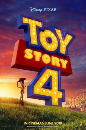 Toy Story 4 Woody, Buzz, Jesse e toda a turma vivem felizes, agora como brinquedos da pequena Bonnie. Entretanto, a chegada de um garfo transformado em brinquedo, Forky, faz com que a calmaria reinante chegue ao fim, justamente porque ele não se aceita como brinquedo.