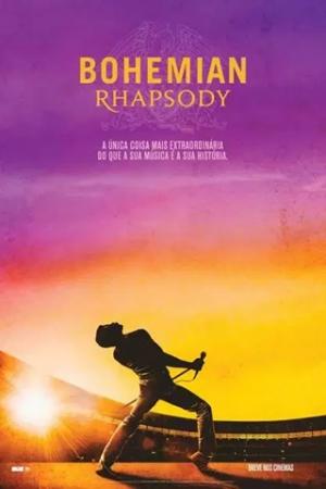 Bohemian Rhapsody Freddie Mercury (Rami Malek) e seus companheiros Brian May (Gwilyn Lee), Roger Taylor (Ben Hardy) e John Deacon (Joseph Mazzello) mudam o mundo da música para sempre ao formar a banda Queen, durante a década de 1970. Porém, quando o estilo de vida extravagante de Mercury começa a sair do controle, a banda tem que enfrentar o desafio de conciliar a fama e o sucesso com suas vidas pessoais cada vez mais complicadas.