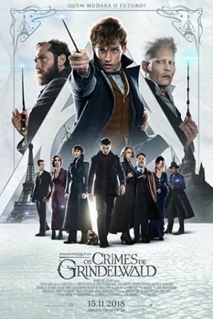 Animais Fantásticos: Os Crimes de Grindelwald Newt Scamander (Eddie Redmayne) reencontra os queridos amigos Tina Goldstein (Katherine Waterston), Queenie Goldstein (Alison Sudol) e Jacob Kowalski (Dan Fogler). Ele é recrutado pelo seu antigo professor em Hogwarts, Alvo Dumbledore (Jude Law), para enfrentar o terrível bruxo das trevas Gellert Grindelwald (Johnny Depp), que escapou da custódia da MACUSA (Congresso Mágico dos EUA) e reúne seguidores, dividindo o mundo entre seres de magos sangue puro e seres não-mágicos.