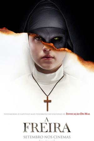 A Freira Presa em um convento na Romênia, uma freira comete suicídio. Para investigar o caso, o Vaticano envia um padre atormentado e uma noviça prestes a se tornar freira. Arriscando suas vidas, a fé e até suas almas, os dois descobrem um segredo profano e se confrontam com uma força do mal que toma a forma de uma freira demoníaca e transforma o convento num campo de batalha.
