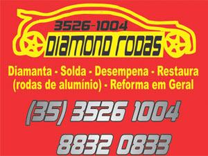 DIAMOND RODAS ESPORTIVAS E DIAMANTAÇÃO - Passos MG