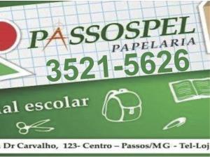 Passospel Papelaria - Passos MG