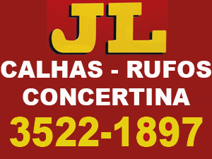 Concertina, Calhas e Rufos JL