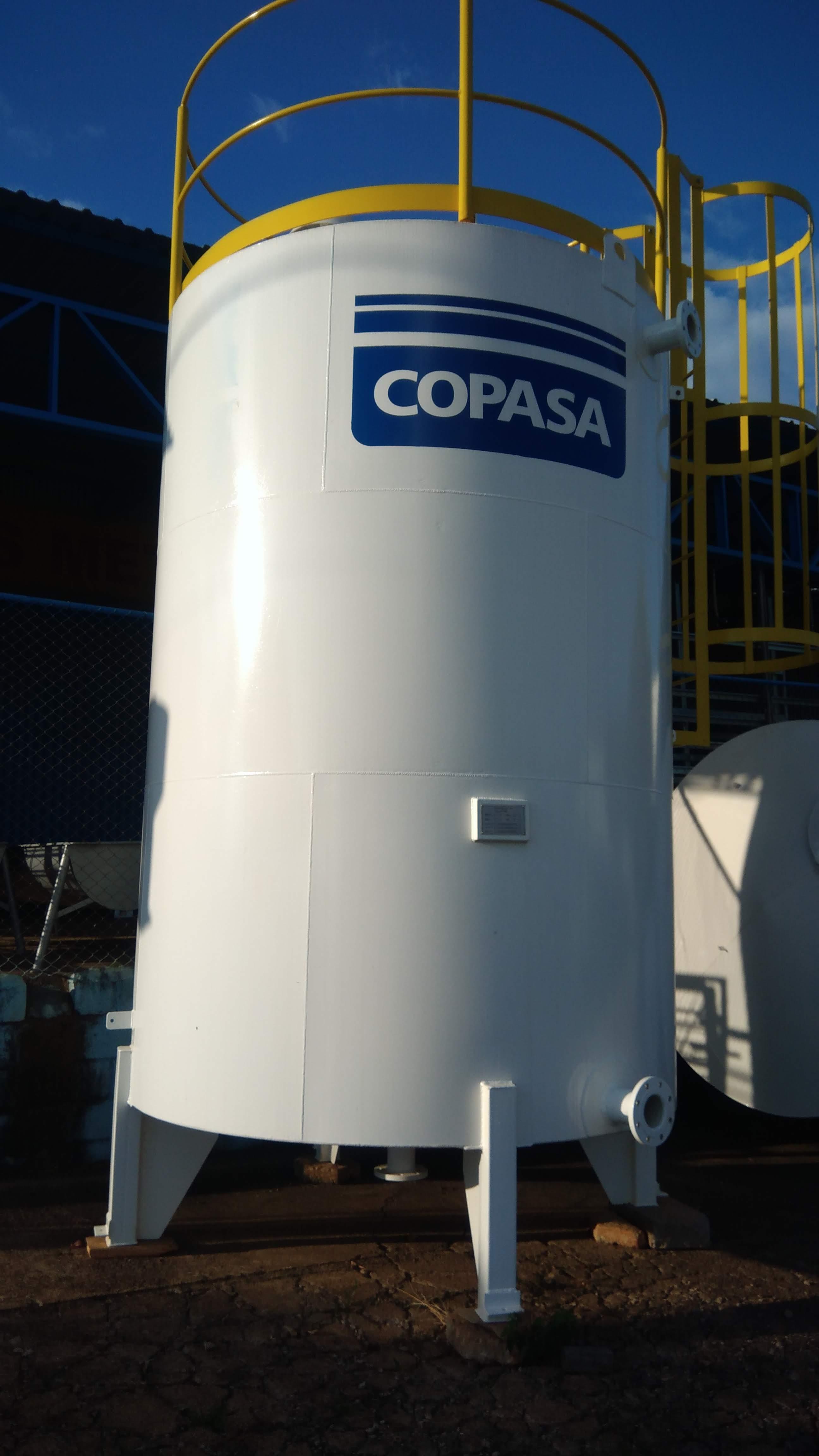 Reservatório cilindro padrão copasa
