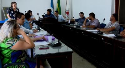 C�mara de Lambari (MG) por unanimidade projeto que oferece pagamento de 13� sal�rio e f�rias para prefeito, vice e vereadores (Foto: Reprodu��o / EPTV)