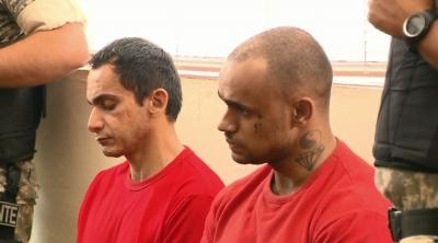 R�us foram condenados a 17 anos e 3 meses de pris�o em regime fechado (Foto: Reprodu��o EPTV)