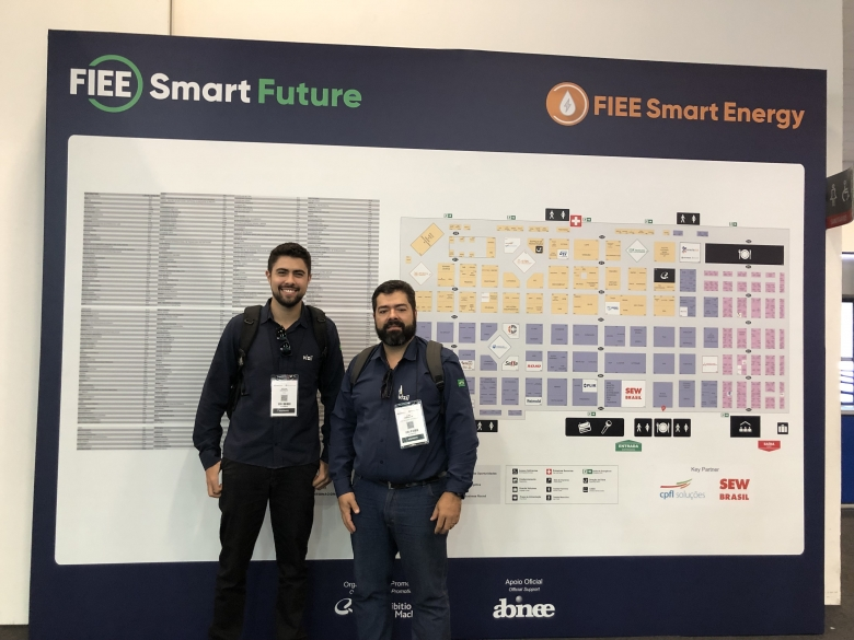 Equipe Visii Marcando presença na FIEE Smart Future 2019